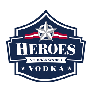 Logo Image For Proud 2021 American Freedom Fund Partner, Heroes Vodka: Official Spirit of a Grateful Nation